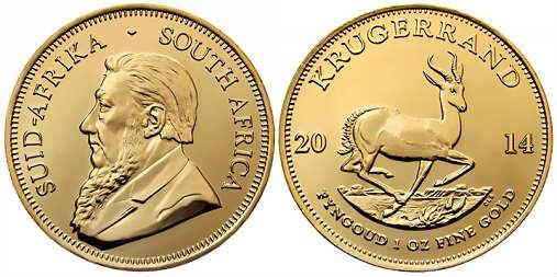 monete d'oro krugerrand